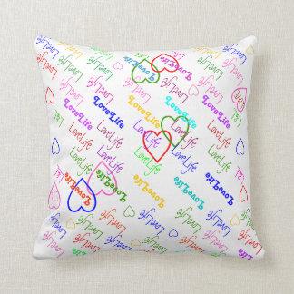 LoveLife multi color Pillow