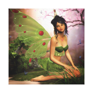 Loveliness of the Mire Wrapped Canvas Print