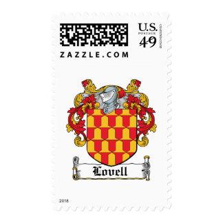 Lovell Family Crest Postage