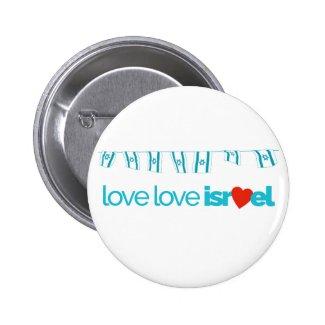 LoveLoveIsrael Standard Size Pin