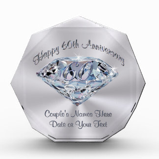 Ideas For 60th Wedding Anniversary Gifts For Parents : Lovely 60th Wedding Anniversary Gifts PERSONALIZED