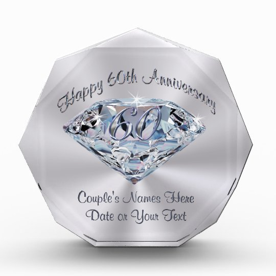 60th Wedding Anniversary Ideas: Lovely 60th Wedding Anniversary Gifts PERSONALIZED