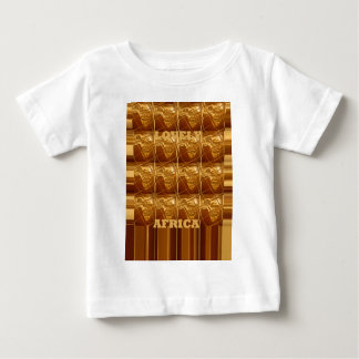Lovely Africa Africa Maps designs Golden colors.pn Tee Shirt