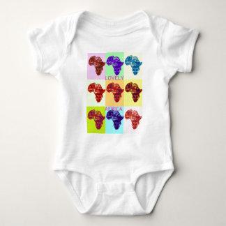 LOVELY AFRICA BABY BODYSUIT