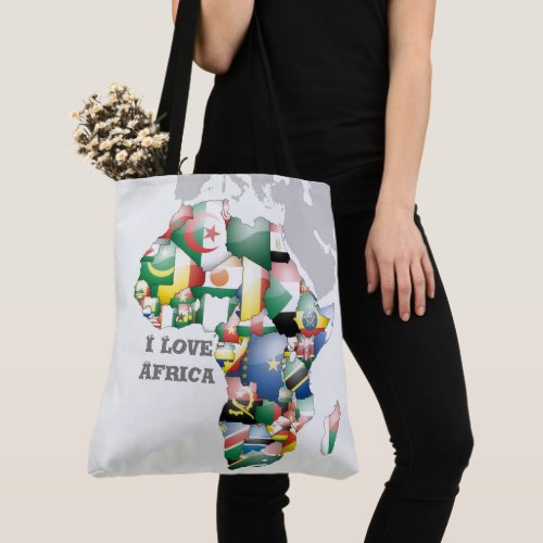 Lovely Africa Tote Bag