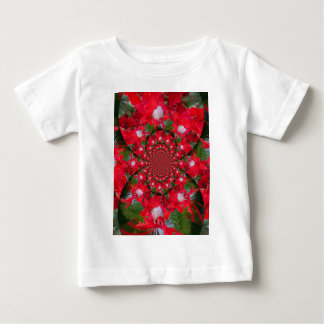 Lovely Alien Crimson Baby T-Shirt