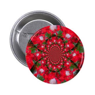 Lovely Alien Crimson Button