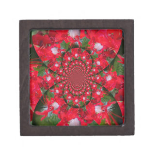 Lovely Alien Crimson Jewelry Box