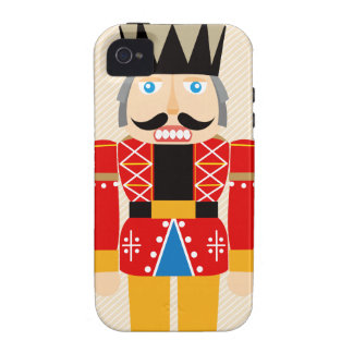 Lovely and Cute Nutcracker Soldier Vibe iPhone 4 Covers