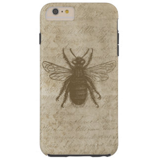 Lovely Antique Brown Bee Tough iPhone 6 Plus Case