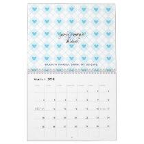 Lovely Argyle Calendar