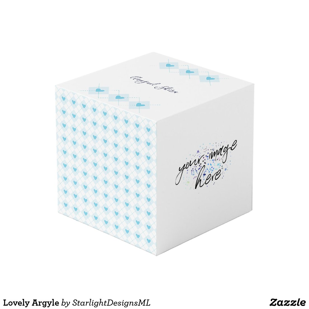 Lovely Argyle Cube