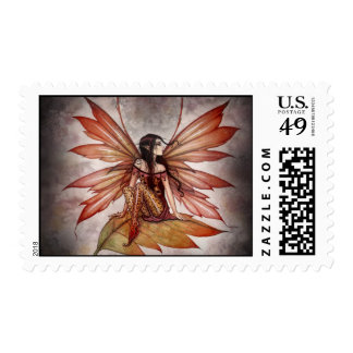 Lovely Autumn Fairy Stamps by Molly Harrison