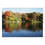 Lovely Autumn Scene Stationery Note Card