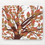 Lovely Autumn Tree Mouse Pad