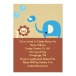 Lovely Baby Boy Shower Personalized Invitation