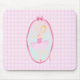 Lovely ballerina girl! mousepads