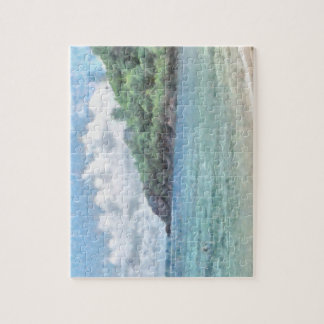 Lovely beach in the Seychelles in the Indian Ocean Jigsaw Puzzles