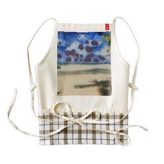 Lovely beach zazzle HEART apron