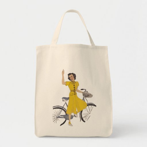 lovely bike lady bag