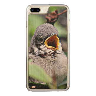 lovely bird carved iPhone 7 plus case