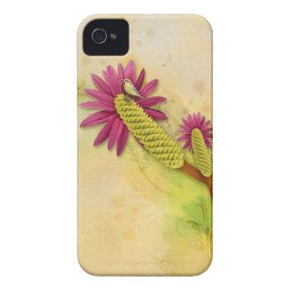 Lovely Bird & Flower Blackberry Case