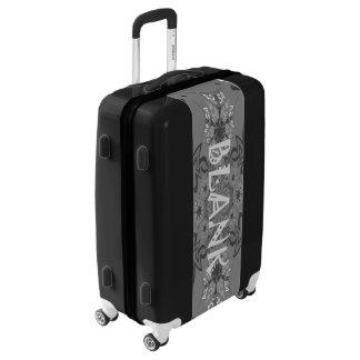 Lovely Blank Mandala Abstract & Geometric Pattern Luggage