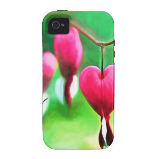 Lovely Bleeding Hearts Case For The iPhone 4
