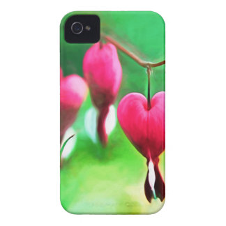 Lovely Bleeding Hearts Case-Mate iPhone 4 Cases