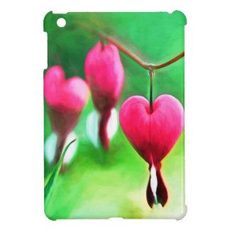Lovely Bleeding Hearts iPad Mini Case