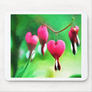 Lovely Bleeding Hearts Mouse Pad
