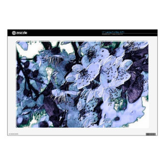 """lovely blossoms 17"""" laptop decals"""