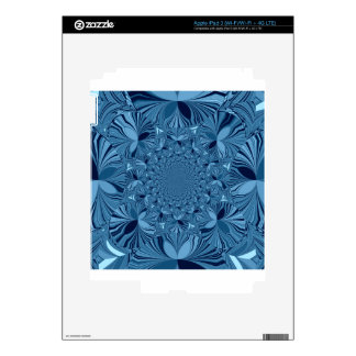 Lovely Blue iPad 3 Decal