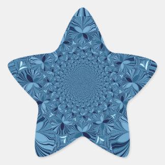 Lovely Blue Star Sticker
