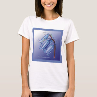 Lovely Bluebell Drawing T-Shirt