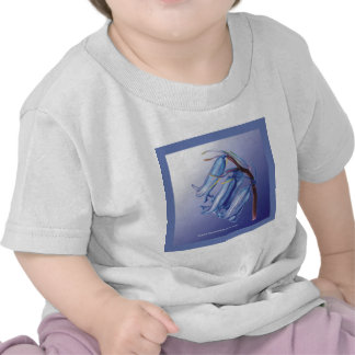 Lovely Bluebell Drawing Shirts