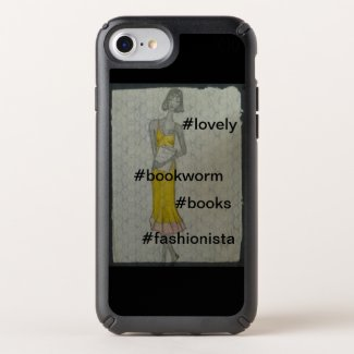 Lovely Bookworm Fashionista Girl Speck iPhone Case
