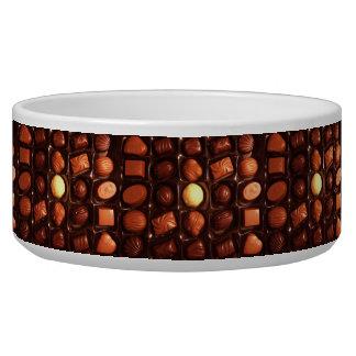 Lovely Box of Chocolates Dog Food Bowls