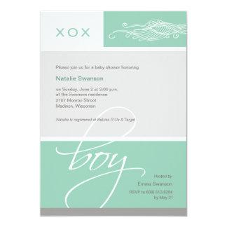 Lovely Boy Custom Baby Shower Invitation