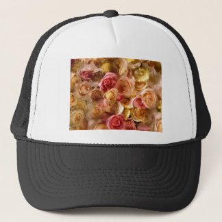 Lovely Bridal Roses Trucker Hat