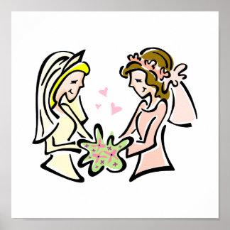 Lovely Brides Poster