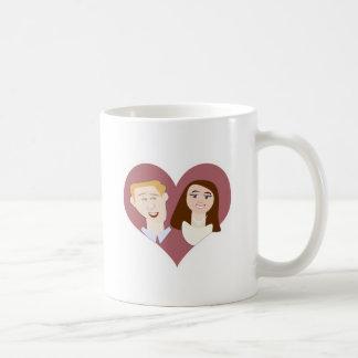 Lovely British Couple Coffee Mug