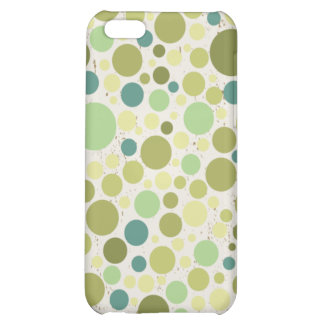 Lovely Bubbly Green & blue iphone4 case iPhone 5C Covers