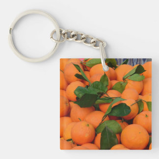 Lovely Bunch of Oranges Keychain
