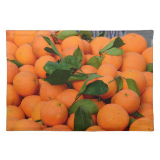 Lovely Bunch of Oranges Place Mat