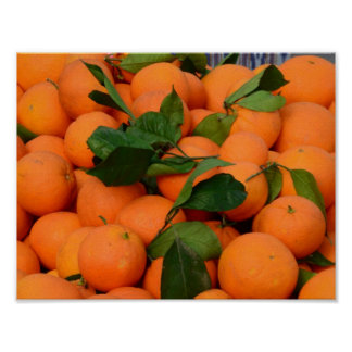 Lovely Bunch of Oranges Poster