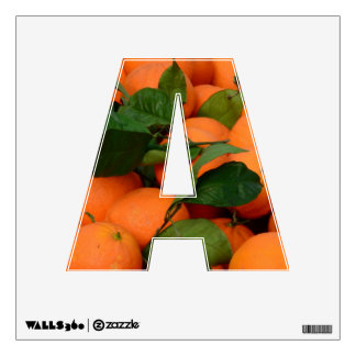 Lovely Bunch of Oranges Wall Decal