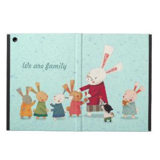 Lovely Bunny Rabbit Family Case For iPad Air