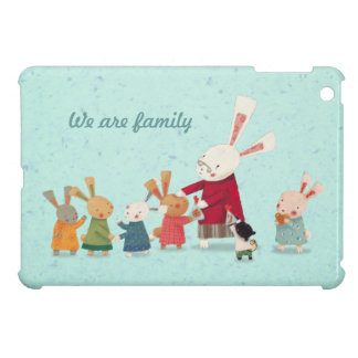 Lovely Bunny Rabbit Family Cover For The iPad Mini