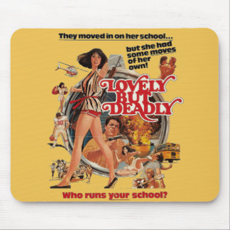 Lovely But Deadly Mouse Pad
